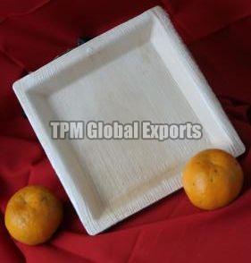 Square Areca Leaf Plate
