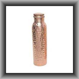 Hammered Copper Water Bottle