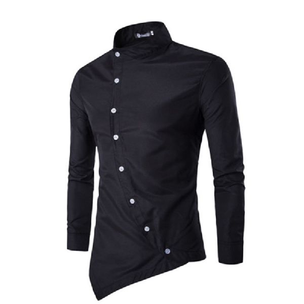 Mens Black Casual Shirt