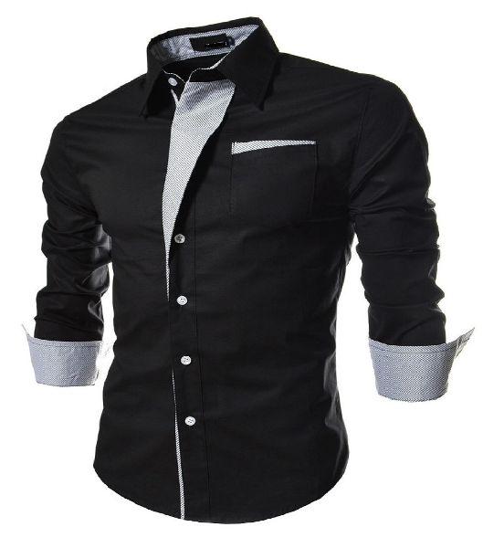 Mens Casual Slim Fit Shirt