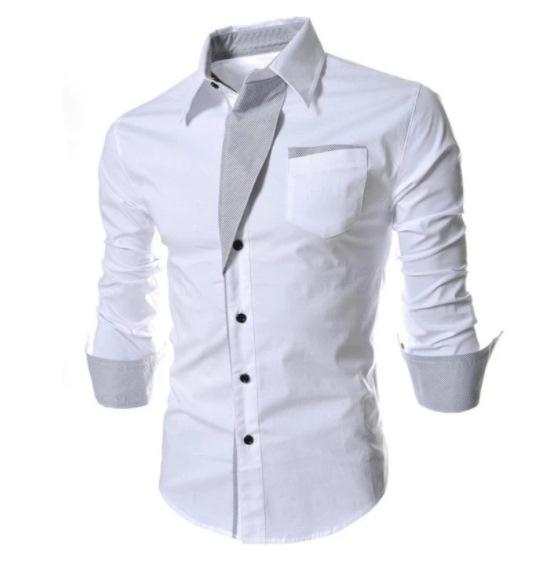 Mens Designer Slim Fit Shirt