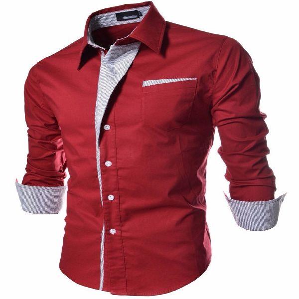 Mens Stylish Slim Fit Shirt
