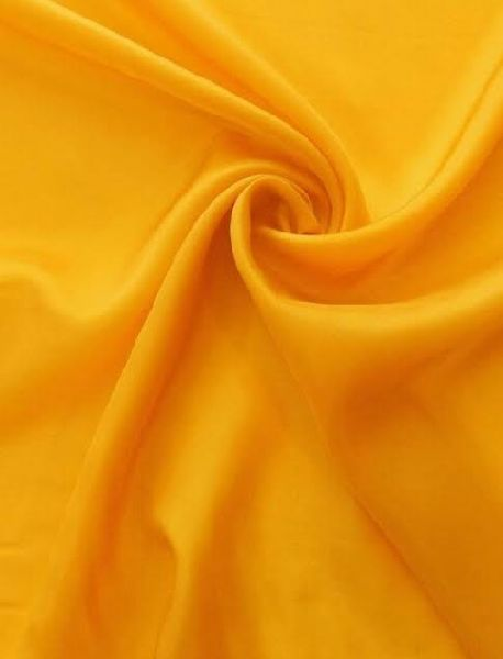 Yellow Rayon Fabric