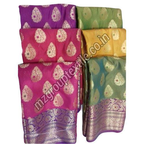 Damask Silk Designer Saree
