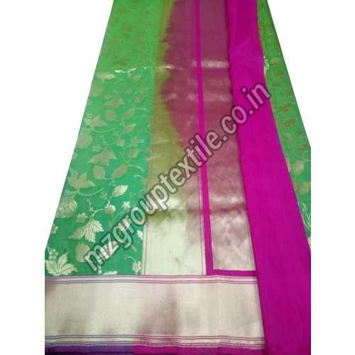 Green Katan Silk Saree