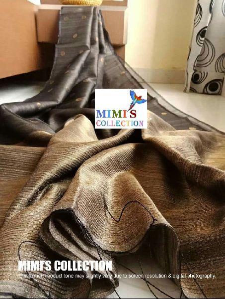 Matka Muslin Saree