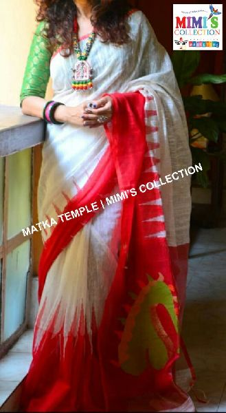 Matka Temple Saree