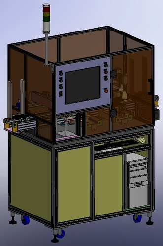Electronic Chip Inspection Machine