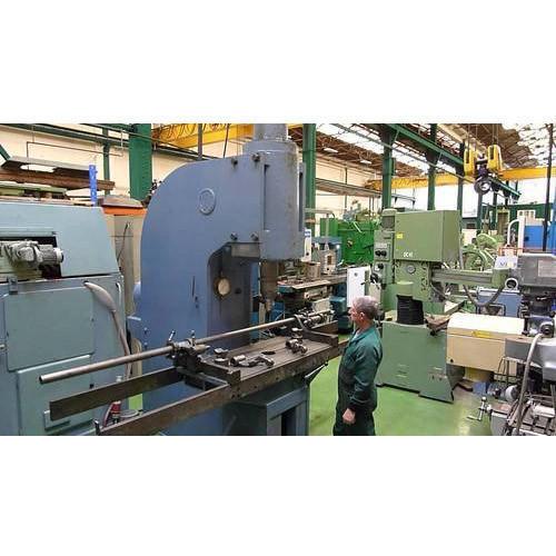 Hydraulic Straightening Press