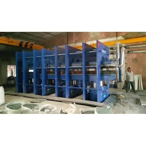 Precured Tread Rubber Molding Press