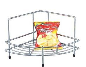 Stainless Steel Single Corner Basket