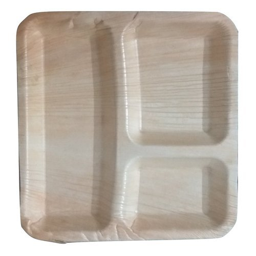 Partition Areca Leaf Plate