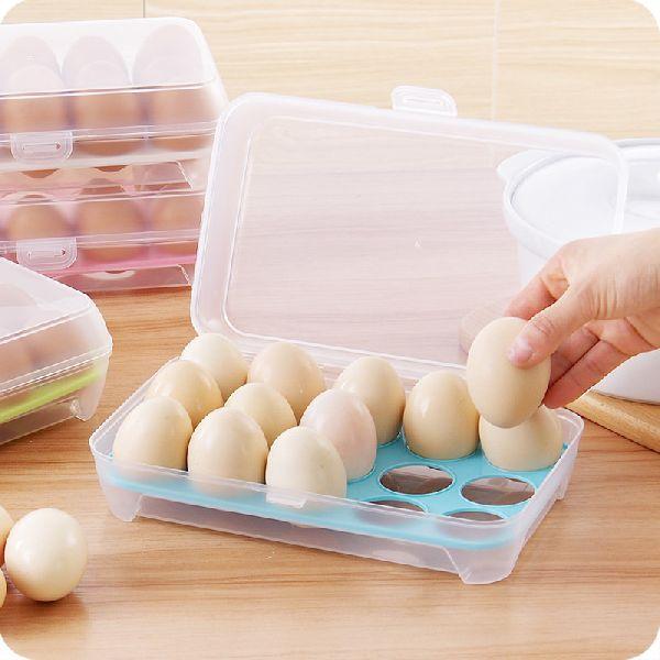 Plastic Transparent Egg Tray