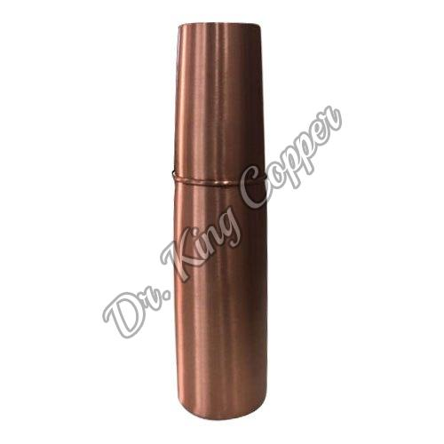 Copper Bottle with Glass Cap
