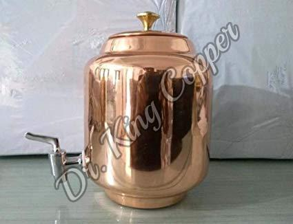 Copper Plain Water Tank