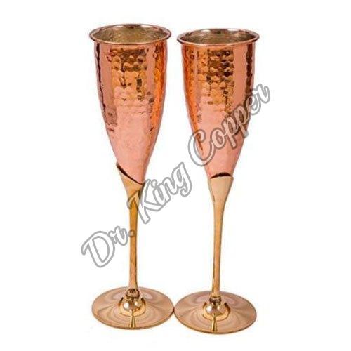 Copper Wine Glass Set