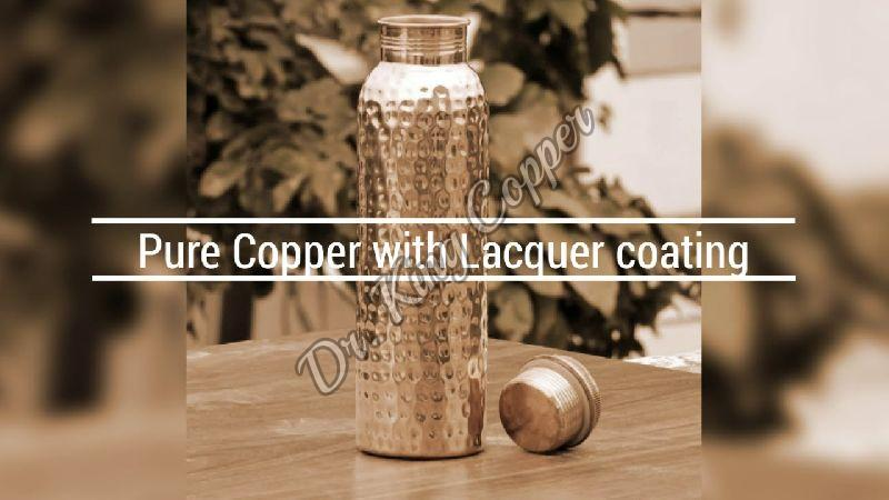 Lacquer Coated Copper Bottle