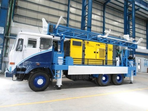 Multi Purpose Truck Water Well Drilling Rig