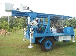 Trailer Mounted Water Well Drilling Rig