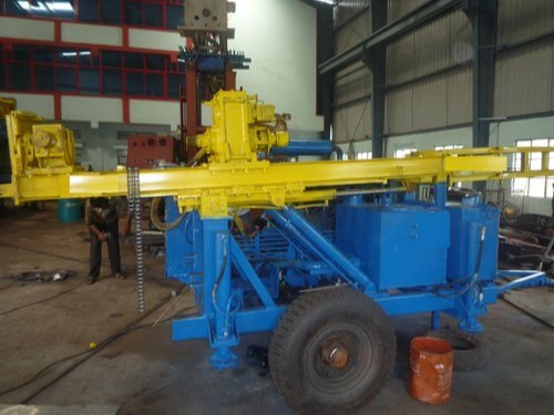 Trolley Mounted DTH cum Rotary Water Well Drilling Rig