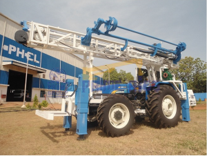 Tractor Mounted DTH Cum Rotary Drilling Rig