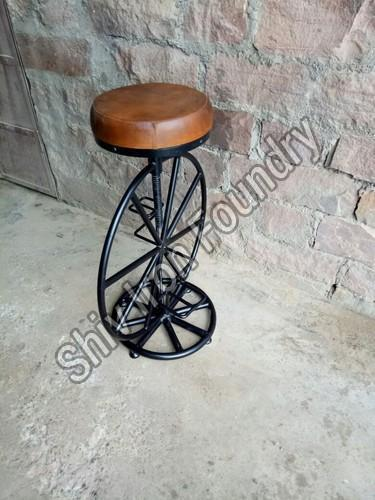 Bicycle Wheel Bar Stool