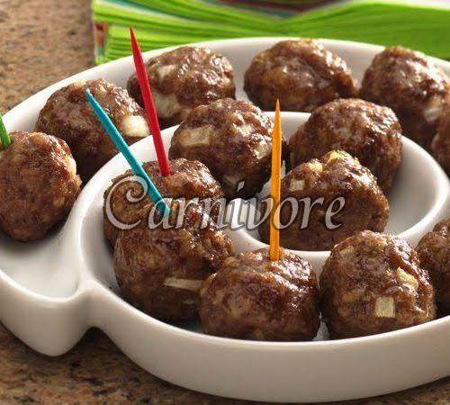 Mutton Meatballs