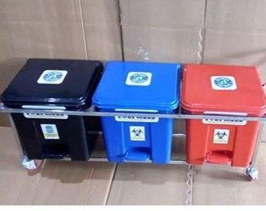 16L Plastic Waste Bin