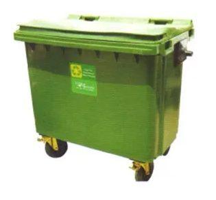 660L Plastic Waste Bin