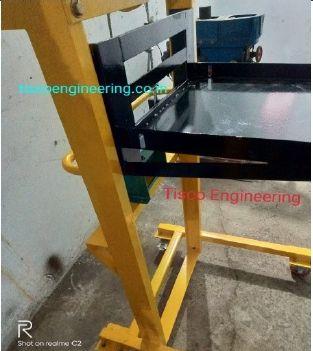 11 Kv  vacuum circuit breakers Lifting Trolley ( VCB Lifting Trolley ) ISO 9001 : 2015