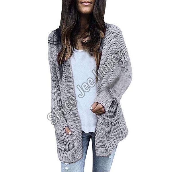 Ladies Knitted Cardigan