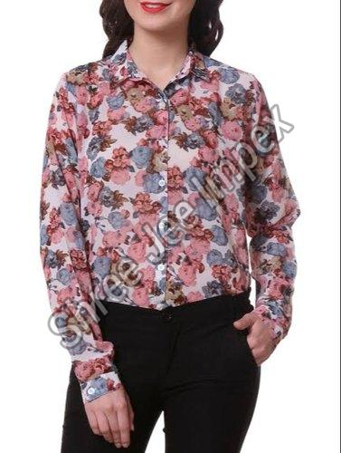 Ladies Printed Shirt