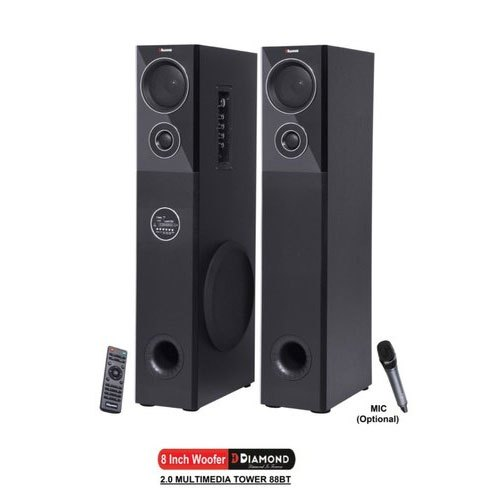 88BT 2.0 Multimedia Tower Speaker