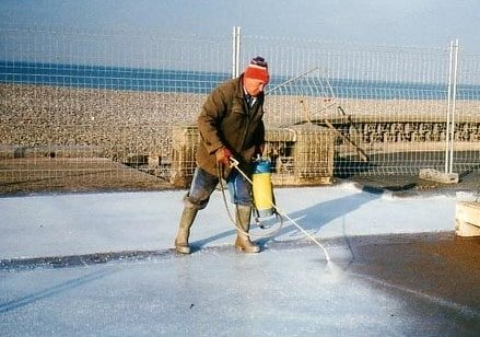 Resin Based Concrete Curing Compound