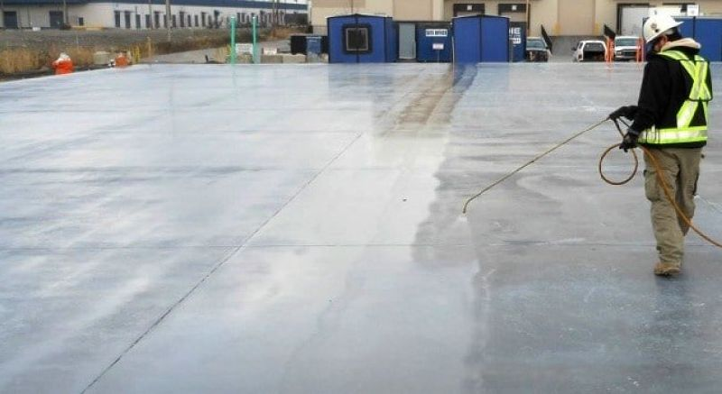 Wax Based Concrete Curing Compound