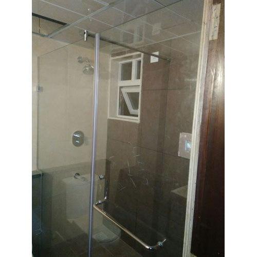 Frameless Glass Shower Partition
