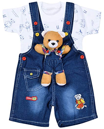 Baby Boy Dungarees