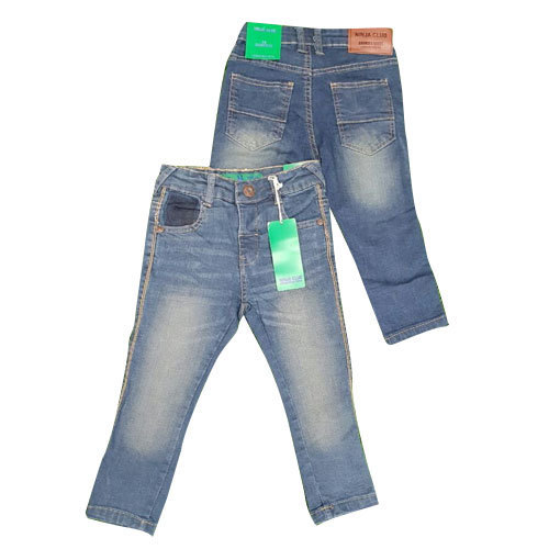 Boys Faded Denim Jeans
