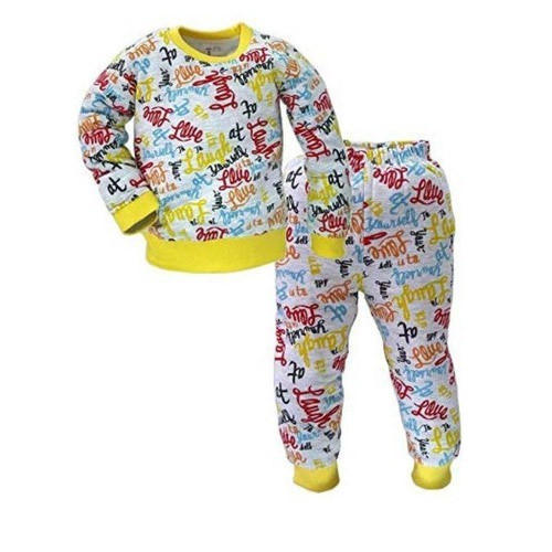 Cotton Printed Baby Night Suit