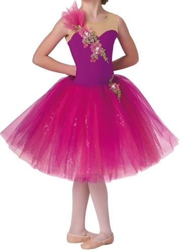 Pink Designer Girls Frock