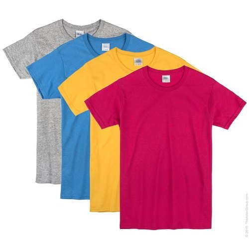 Plain Cotton Kids T-Shirt
