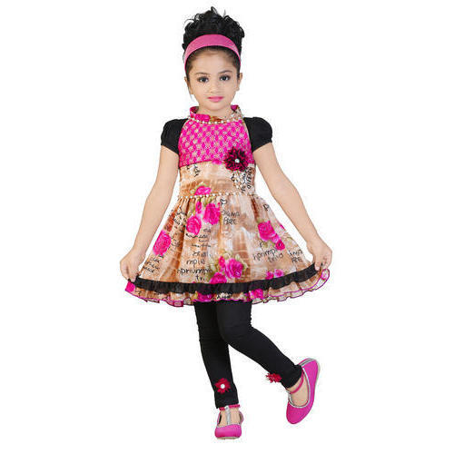 Printed Girls Frock