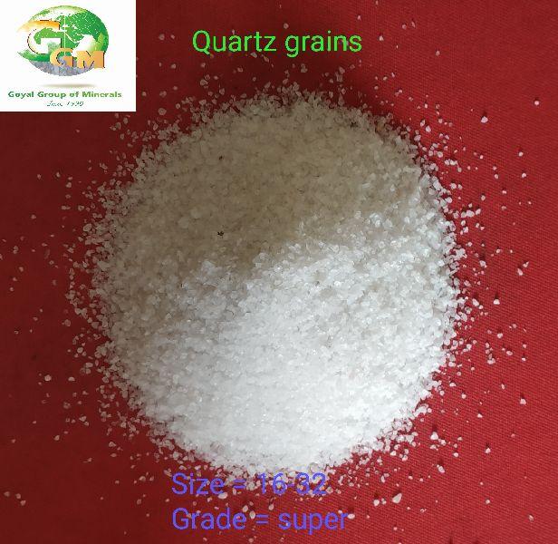 16-32 Mesh Quartz Grains