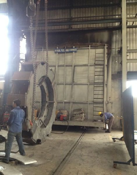Heavy Structure Boogie Type Sress Relieving Furnace