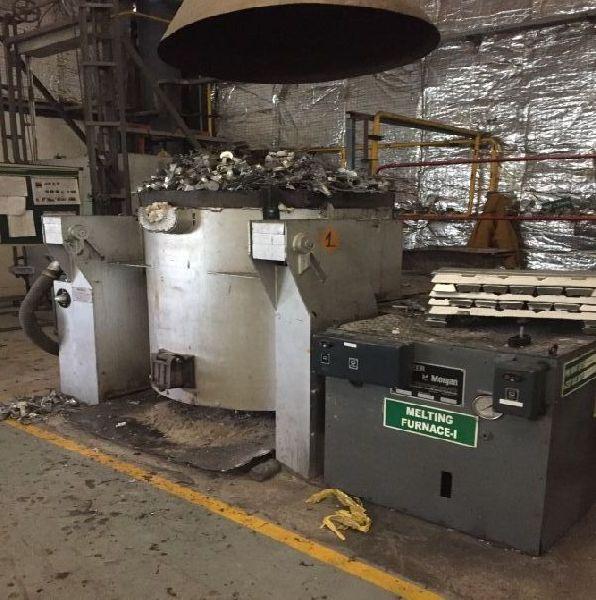 Oil Fired Crucible Type Hydraullic Tilting Furnace
