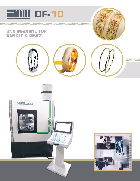 CNC Bangle & Ring Making Machine (DF-10)