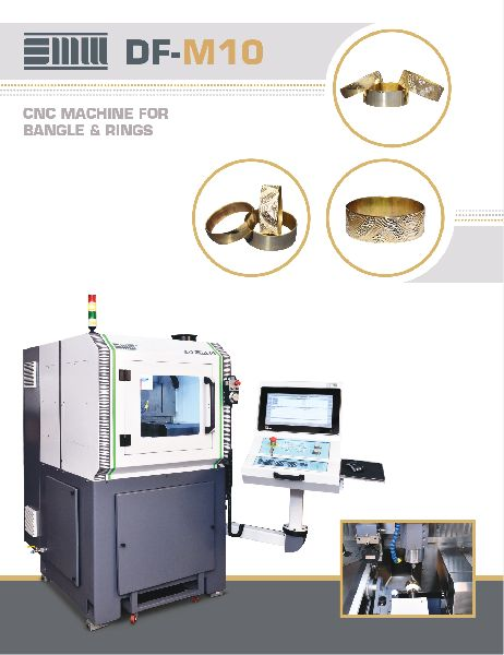 CNC Bangle & Ring Making Machine (DF-M10)