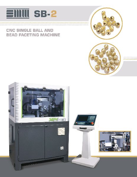 CNC Single Ball & Bead Faceting Machine (SB-2)