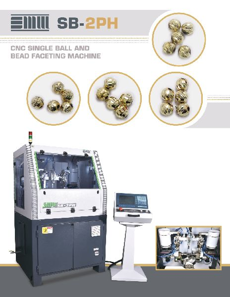 CNC Single Ball & Bead Faceting Machine (SB-2PH)