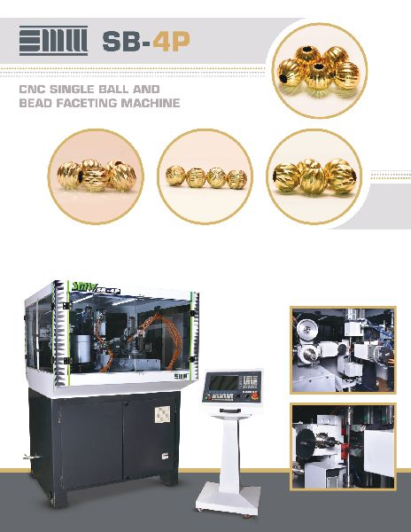 CNC Single Ball & Bead Faceting Machine (SB-4P)